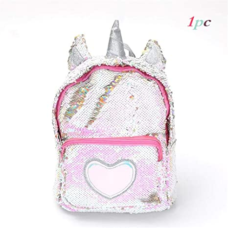 Hearty Mini Travel Bags Silver Laser Backpack Women Girls Shoulder Bag Pu Leather Holographic Backpack School Bags For Teenage Girls Be Novel In Design Luggage & Bags