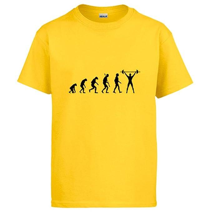 Diver Camisetas Camiseta Crossfit Evolution la evolución del Crossfit: Amazon.es: Ropa y accesorios