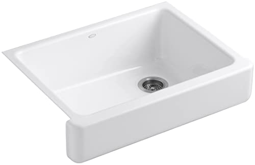 Kohler Whitehaven Self-Trimming Under-Mount Single-Bowl Kitchen Sink