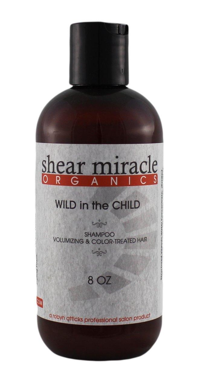 Wild in the Child Shampoo (Adds Body & Volume) - Vegan, Gluten Free, GMO Free, No Animal Testing.