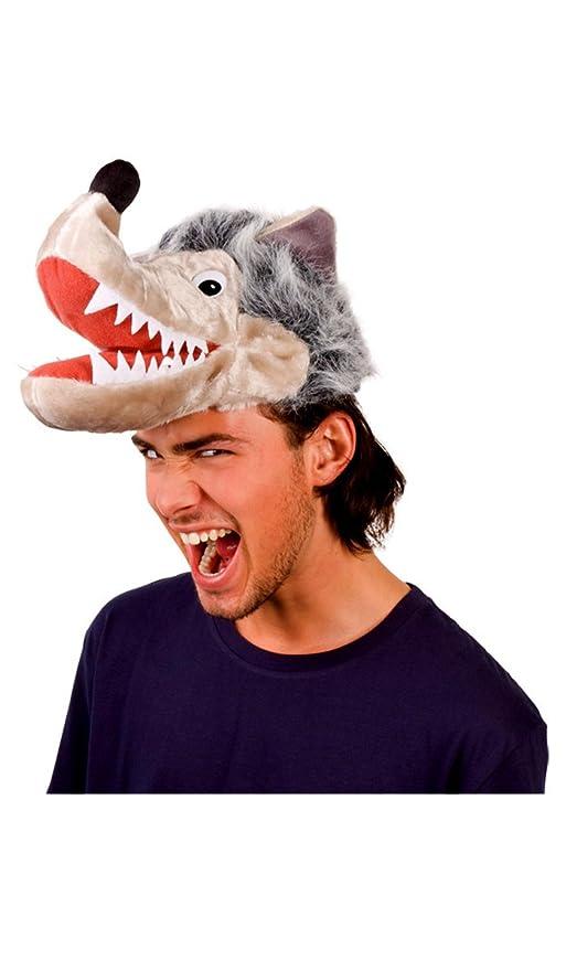 Divertente cappello lupo per gli adulti  Amazon.it  Giochi e giocattoli 8c99430f76ae