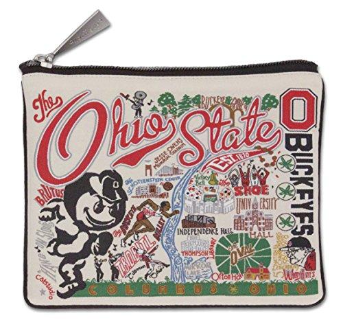 Catstudio Ohio State University Zip Pouch | Use as Wallet, Clutch, Handbag or Makeup Bag