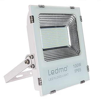 LEDMO Foco Proyector 100W Foco LED,2835 9900LM Super brillant focos led,Blanco de