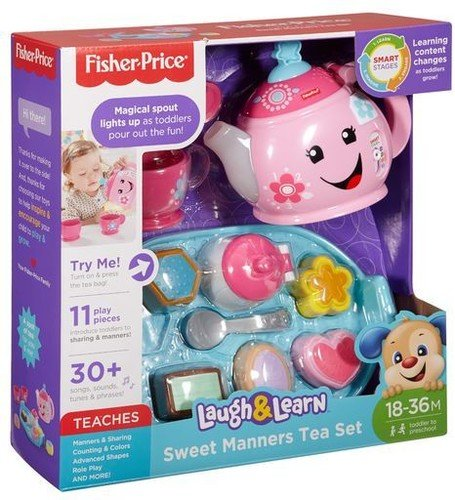 Fisher-Price Laugh & Learn Sweet Manners Tea Set (Magical Tea)