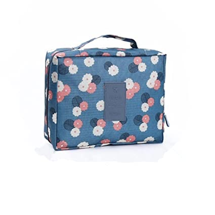 YCLM Cosmetic Bag Estuche cosmético Bolsa de aseo Bolsa de cultivo Bolsa de maquillaje Multifuncional Bolsa de lavado a prueba de agua Almacenamiento ...