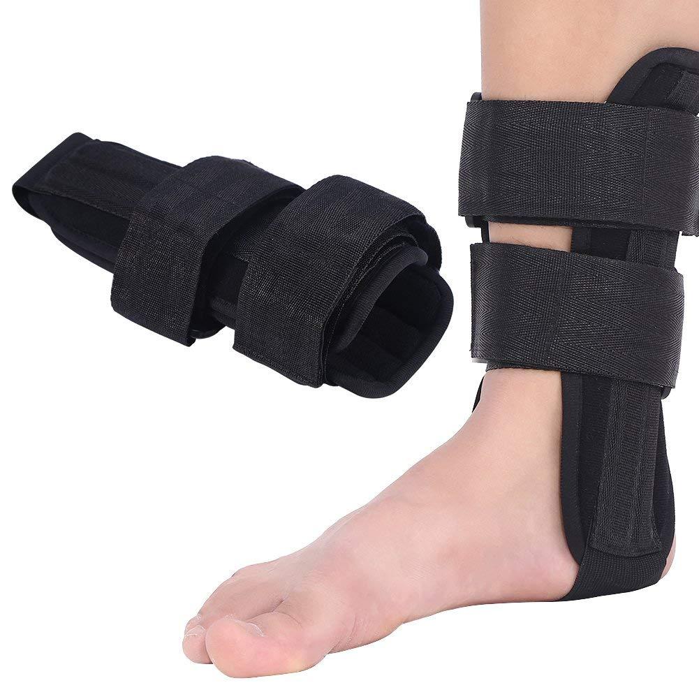Tobillera Soporte de Tobillo Apoyo ortopédico Estabilizador del pie Ortesis Protector de Tobillo Lesión del esguince Férula Protectora(S)