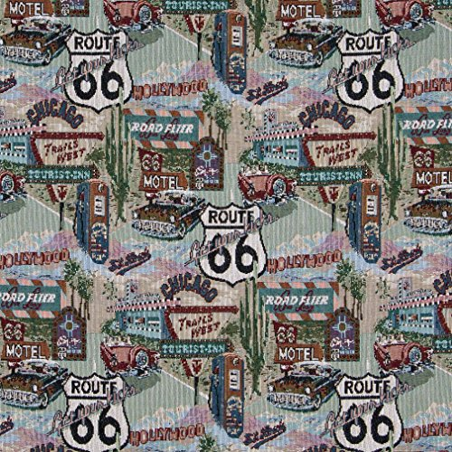 Route 66 Fabric - 3