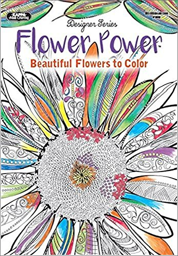 Amazon Adult Coloring Books Colored Pencils Flower Power Exotic Impressions