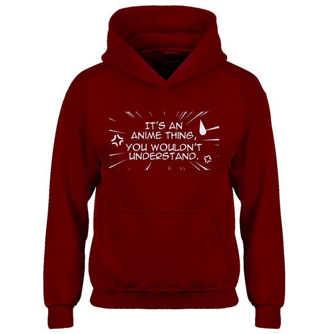 Indica Plateau Youth Its an Anime Thing Kids Hoodie