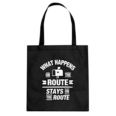 Indica Plateau What Happens on the Route Stays on the Route Canvas Tote Bag