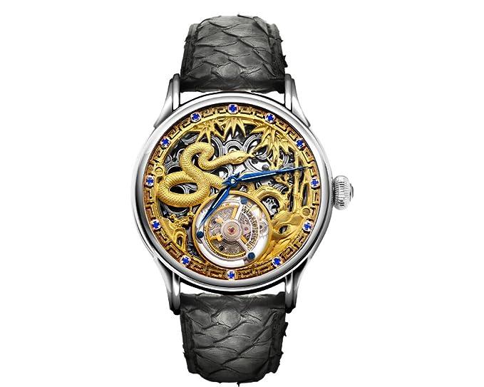 Memorigin Reloj Tourbillon Zodiac serie serpiente