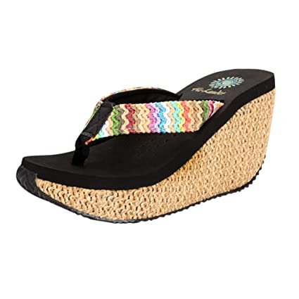 c7b38374dbcc4 Amazon.com: Mother's Day Sale! Jiayit Women's Wedge Slippers Sandals ...