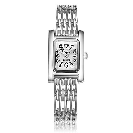 Reloj de Pulsera de Reloj de Correa de Caja de Aleación de Reloj de Cuarzo para