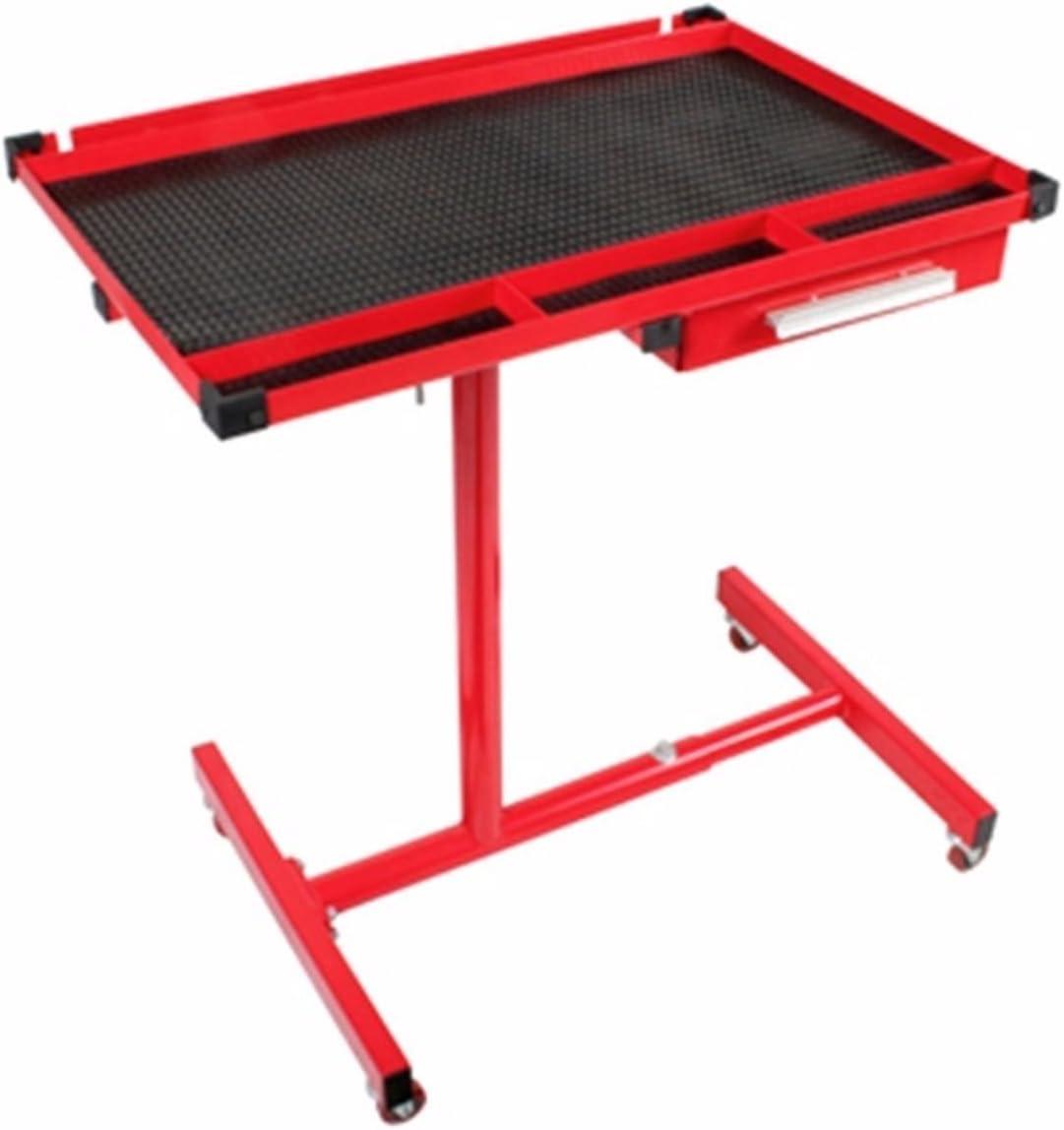 Generic Heav stable avec tiroir E Heavy DUT Table de travail ajuster Table Heavy Duty réglable W Plateau outils Rolling LS Rolling Garage Home Shop outils à rouler