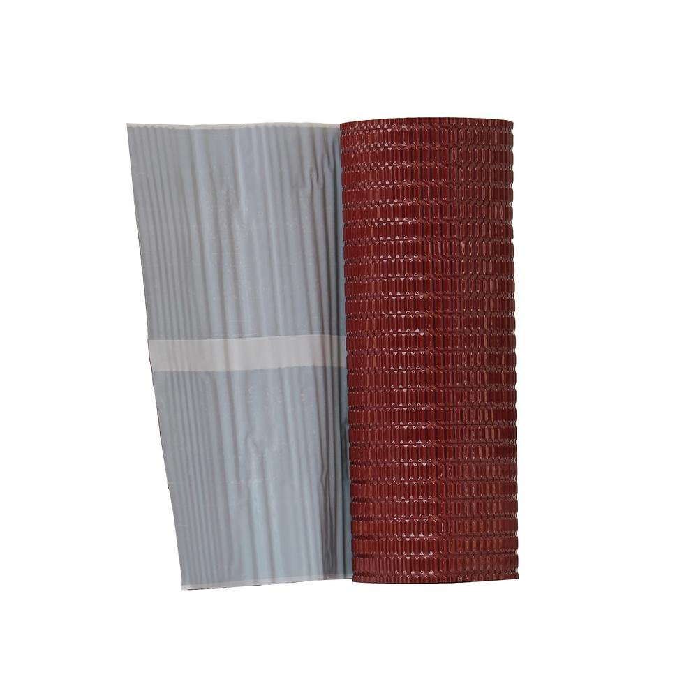 Onduline P703 Aluminum Flashing Band with Butyl Adhesive, Onduline Red