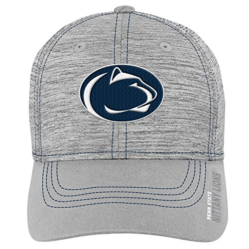 NCAA Penn State Nittany Lions Youth Boys Velocity Structured Flex Hat, Youth Boys One Size, Dark Navy