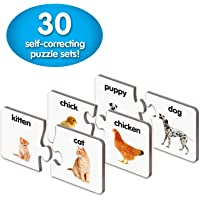 The Learning Journey: Match It! - Animal Families - Self-Correcting Adult and Baby Animal Pairs Matching Puzzle