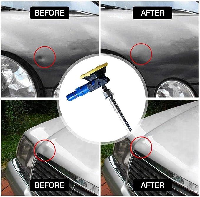 Esplic Dellen Reparatur Ausbeulwerkzeug Dellen Reparaturset Auto Paintless Dent Removal Kit Diy Lifter Für Fahrzeug Dellen Tür Dings Hagel Schaden Entfernen Auto