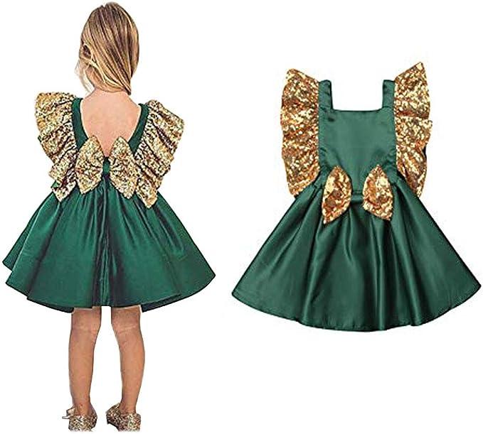 Amazon.com: ZWINZ - Vestido de princesa de Navidad con ...