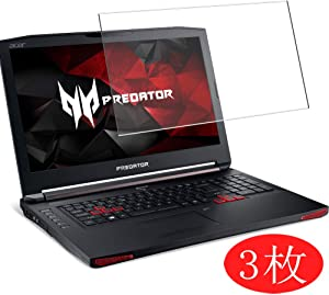 """【3 Pack】 Synvy Screen Protector for Acer Acer Predator 17 X Gx-791 / Gx-792 17.3"""" TPU Flexible HD Film Protective Protectors [Not Tempered Glass]"""