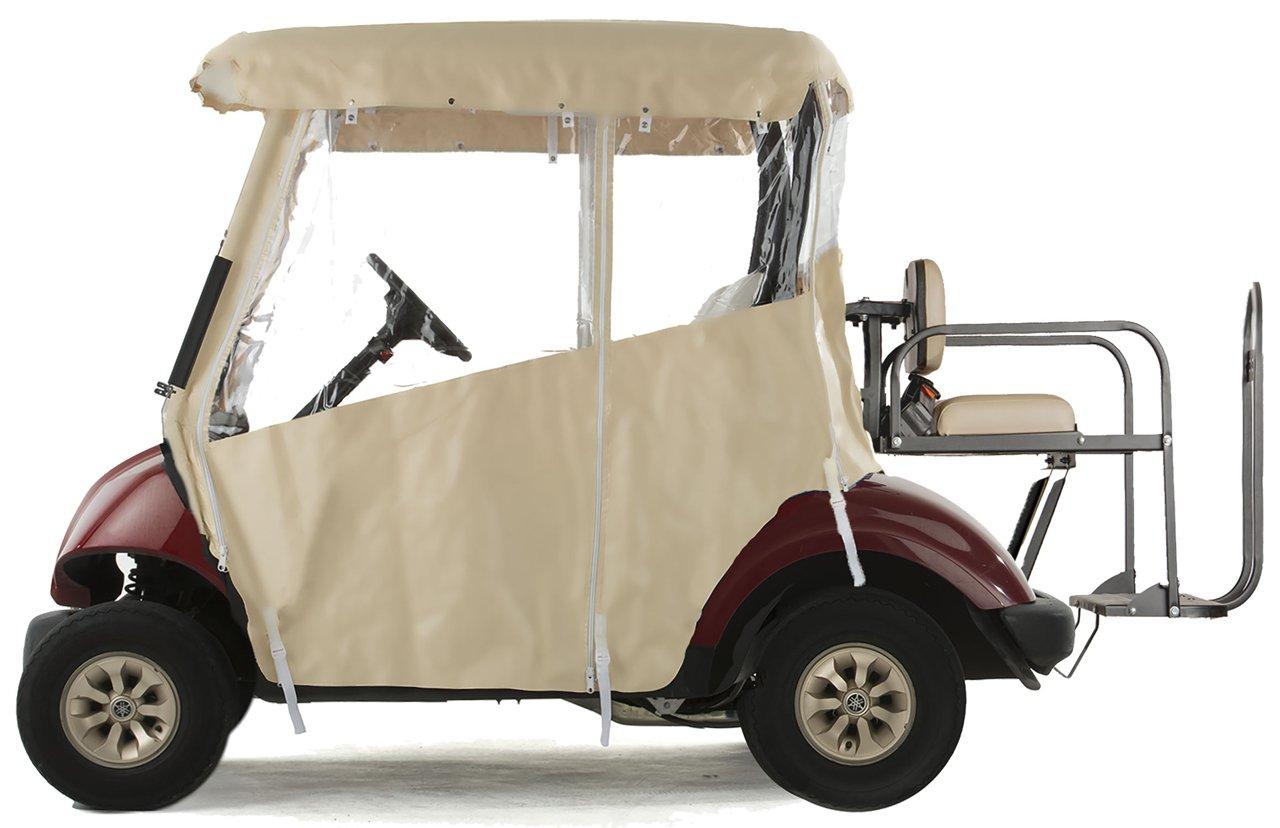 Amazon.com: Carro de golf de 3 caras de vinilo para Yamaha ...