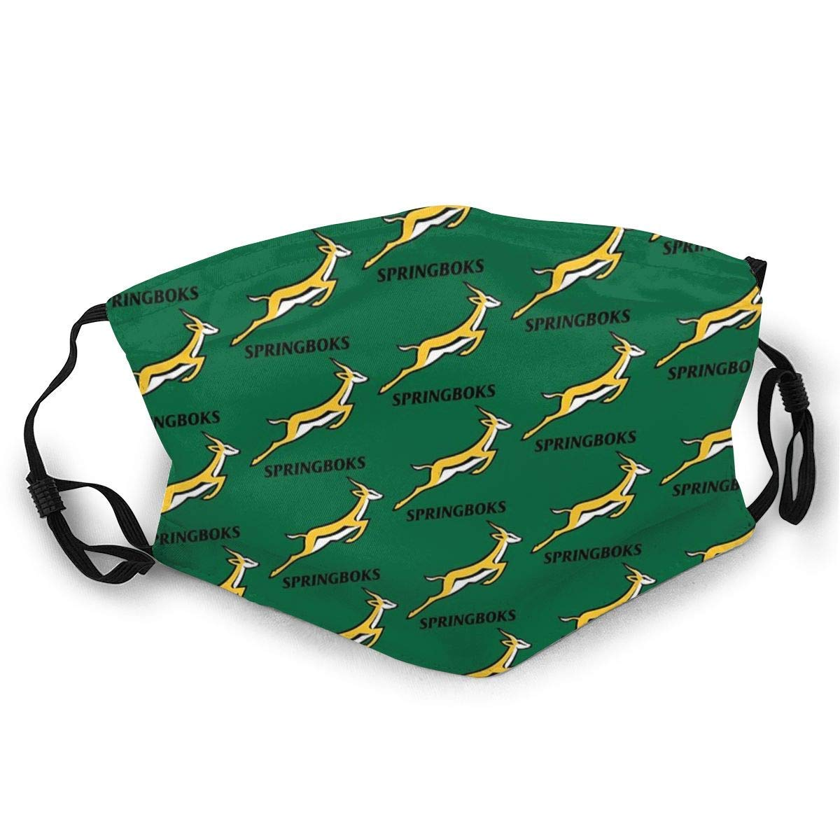 Comfortable Printed Facial decorations for adult Springboks Rugby Sun-Proof Fashion BandaHeadwear for Fishing