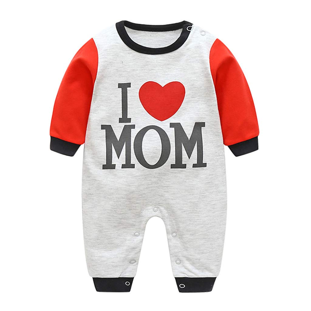 MIOIM Newborn Infant Baby Girls Boys Hooded Long Sleeves Romper Bodysuit Outfit
