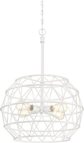 Westinghouse Lighting 6367800 Sierra Four-Light Indoor Chandelier