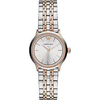 Emporio Armani Ladies  Watch XS Analog Quartz Stainless Steel AR1827   Amazon.co.uk  Watches 564fed3a3683