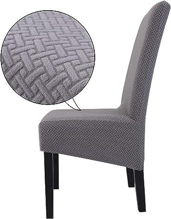 TOPCHANCES XL Fundas para sillas de comedor, fundas protectoras ...