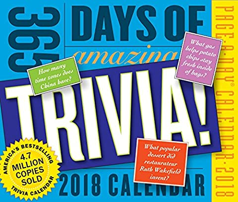 365 Days of Amazing Trivia! Page-A-Day Calendar 2018 (365 Days Of Amazing Trivia)