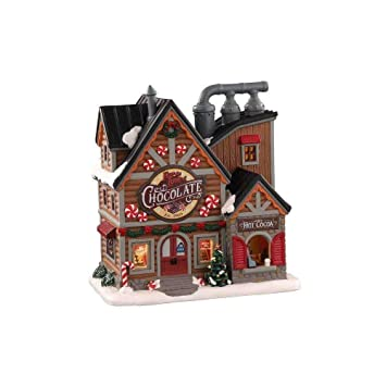 Lemax 2021 Christmas Village House Buy Lemax Village Collection For The Love Of Chocolate Shop 05621 Online At Low Prices In India Amazon In