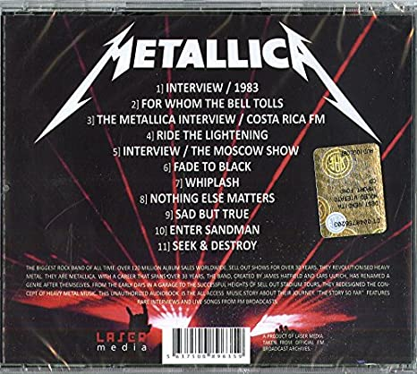 797c449b1f Metallica - The Story So Far - Amazon.com Music