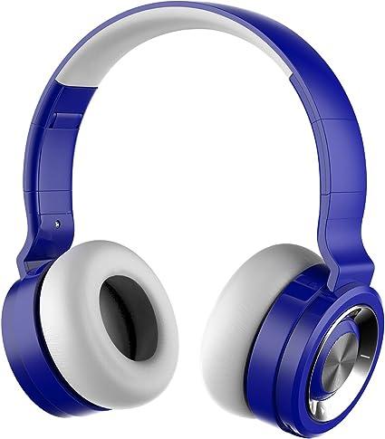 Auriculares Inalámbricos con Micrófono,Funwaretech G4 Cascos Bluetooth Diadema,Auriculares Inalámbricos de Diadema Cerrados,20hrs Reproducción de ...