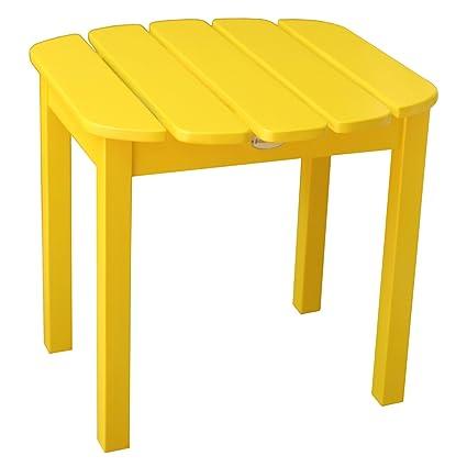 International Concepts T 51903 Adirondack Sidetable, Yellow