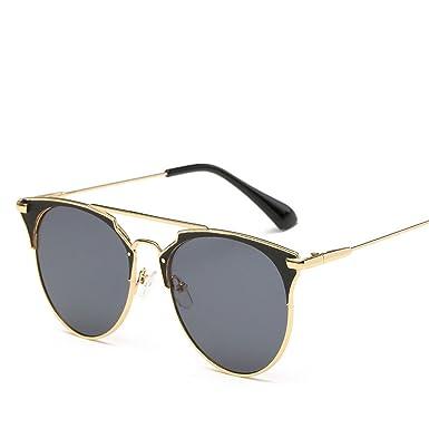 Amazon.com: Gafas de sol de lujo vintage redondas con ojo de ...