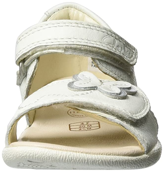 43665176d86f2e Clarks Girls'' Kiani Sun FST Walking Baby Shoes: Amazon.co.uk: Shoes & Bags
