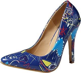Femme Escarpin,Chaussures à Talons Hauts pour Femmes Wild Pointed Shallow Ladies Shoes Chaussure Stiletto Single,Sandales