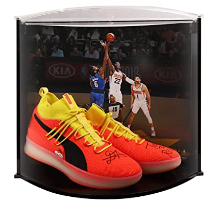 660cf09a3505 DEANDRE AYTON Autographed and Inscribed quot Time To Rise quot  Puma Clyde  Court Disrupt Size 16