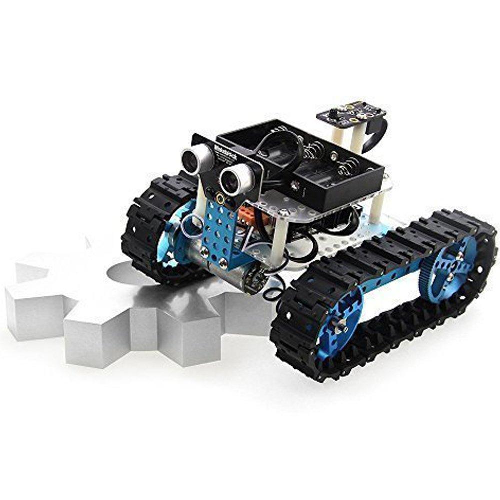 Makeblock DIY Starter Robot kit - Premium Quality - STEM Education - Arduino - Scratch 2.0 - Programmable Robot Kit for Kids to Learn Coding, Robotics and Electronics (IR Version) by Makeblock (Image #4)
