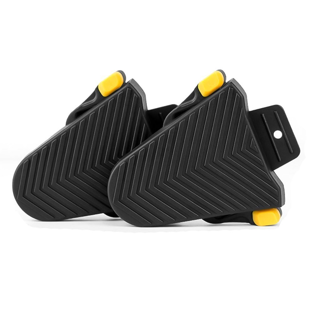 chen gui jin ke ji Co.,Ltd. Bike Cycling Cleat Covers, Quick Release Rubber Cleat Cover for Shimano SPD-SL Pedal Systems (1 Pair)