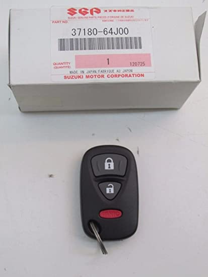 Keyless Entry Remote Fob Clicker for 2007 Suzuki Grand Vitara With Do-It-Yourself Programming