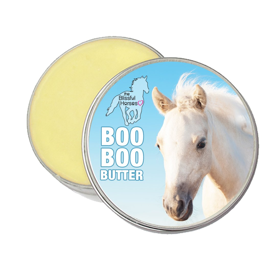 The Blissful Horses Boo Boo Butter All Natural Support for Your Horse's Discomforts, 8-Ounce by The Blissful Dog