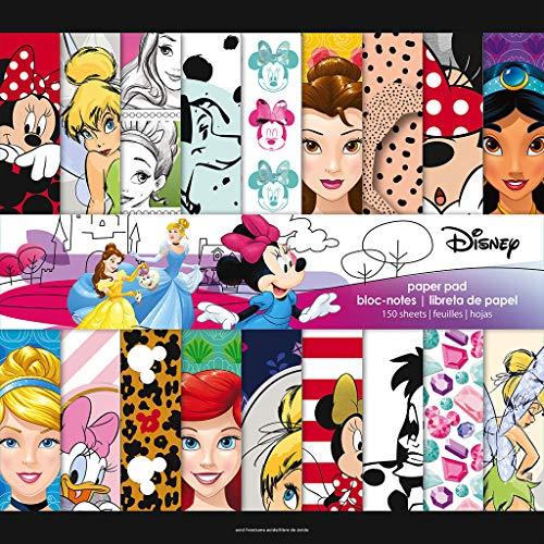 Trends International Disney Girl - Mega Paper Pad 150PG, Multi