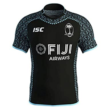 2a9632d29 Amazon.com: 2018 World Cup Fiji Rugby Jersey Sevens Olympic Shirt ...