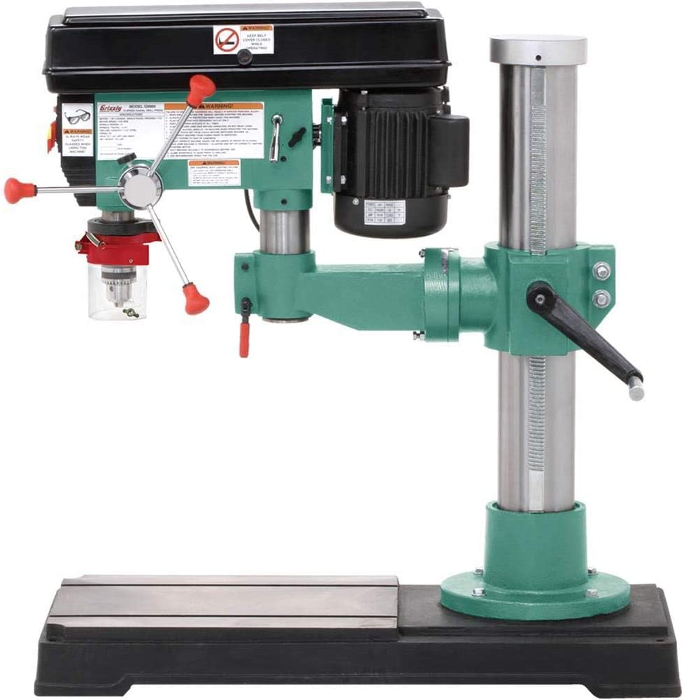 Grizzly Industrial G9969-45 Radial Drill Press