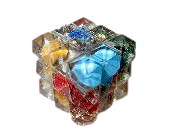 New Orgone Pyramid Cube 54 Crystal Hexahedron Sacred Geometry Manifestation Healing Top Grade A Reiki Energy