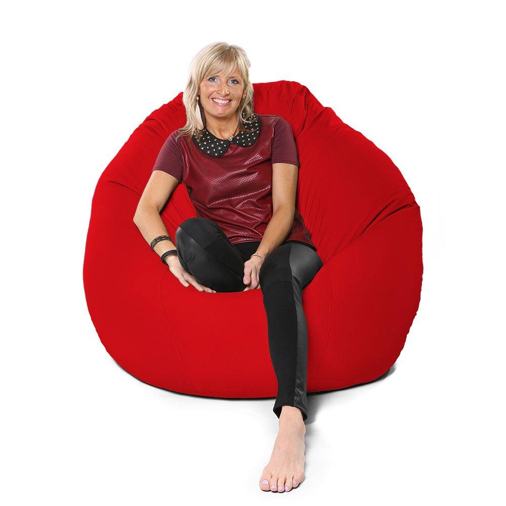 rucomfy Trend Jumbo Flob A Dob™ Beanbag , Black RU Comfy TRFAD-BLK