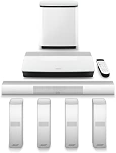 Bose Lifestyle 650 Home Entertainment System, works with Alexa - White