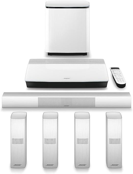 Bose Lifestyle 650 White Home Entertainment System & 737253-1110 ...